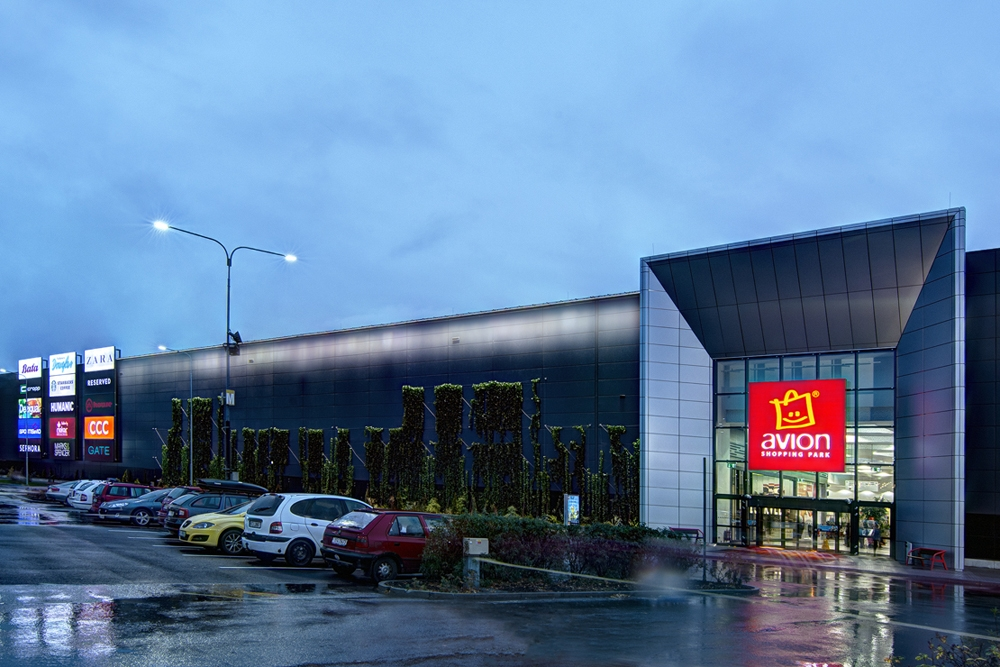 APTO LED Avion Shopping Park Ostrava