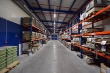 APTO LED main lighting of storage room