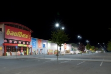 APTO LED Street lights APTOS bauMAX Ostrava