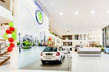 APTO LED Auto Brejla Škoda project
