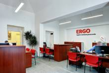 APTO interior LED lighting office ERGO insurance company